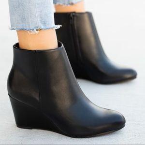 Women's Wedge Booties Size 10